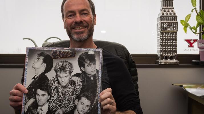 British Pop Star Turned YSU History Teacher