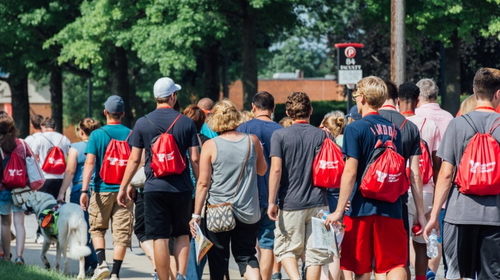 Prospective Students Beat the Heat at Crash Day