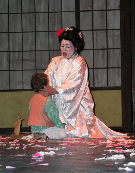 Youngstown State University professor Misook Yun has played the role of Madame Butterfly more times than any other role that she has played. Photo Courtesy of Misook Yun.