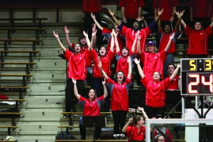 Youngstown State University's Pep Band plays at every home basketball game. Though the basketball season ended over a month ago, band members only just received payment this week for their work.