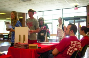 Crash Day attendance nearly doubled from last year, a feat made possible through an increase in admission outreach efforts and aided by President Tressel's appearance at the event.
