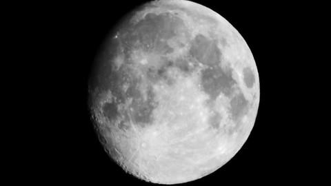 "Photo courtesy of Mark Harkin/Flickr. CC by 2.0. ""Moon 6th September Clydebank."""