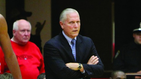 The Youngstown State University men's basketball team has lost seven of the 15 players on the team's roster. Seniors DJ Cole and Shawn Amiker are graduating and five other players are transferring before the start of next season. Photo courtesy of YSU Sports Information.