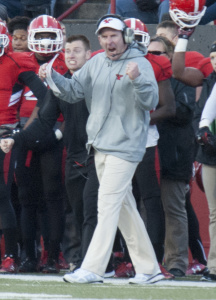 Bo Pelini, the head coach of the Youngstown State University football team, said the program needed a smaller recruiting class due to a limited number of spots on the roster.