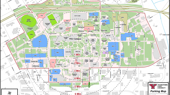 Ysu Campus Map Ysu Campus Map | States Maps