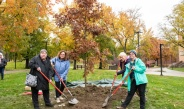 'One of a Kind' Tree Planted on Campus in Memoriam of Dr. Ray