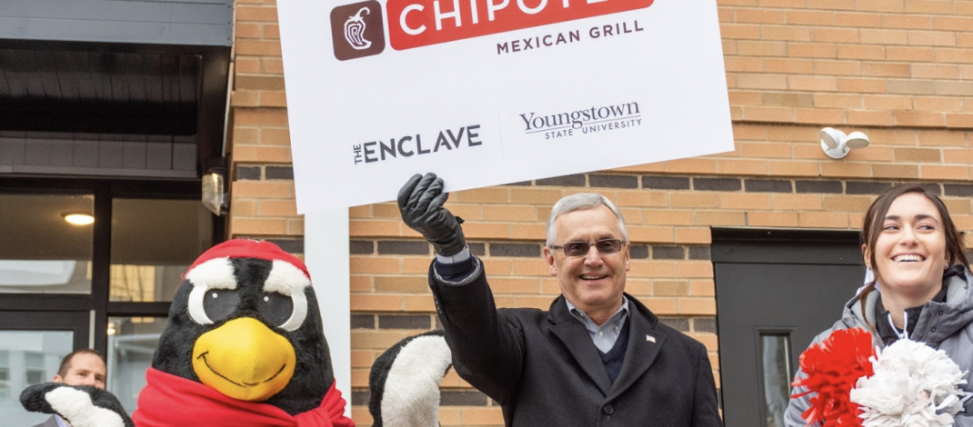 YSU Announces Mercy Health Clinic and Chipotle in Spring 2019
