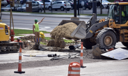 Fifth Avenue Construction Continues into Start of YSU Fall Semester