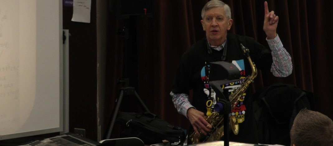 World-Renowned Jazz Artist Strikes a Chord with Dana Students