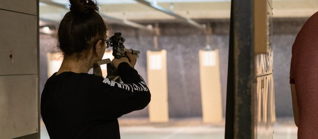 Guins Hit a Bull's-Eye: Marksmanship Courses Offered at YSU