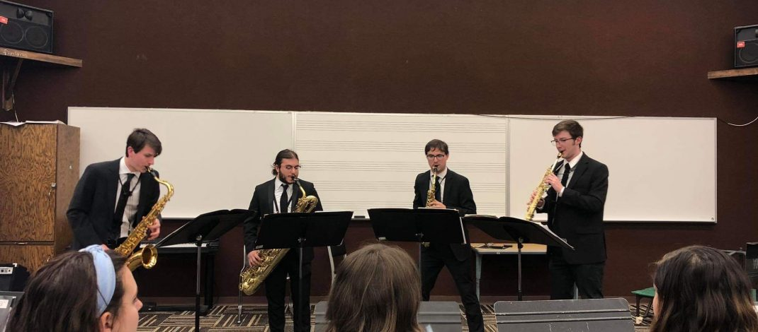 Helix Saxophone Quartet Ready to Represent